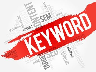 The use of keywords in SEO