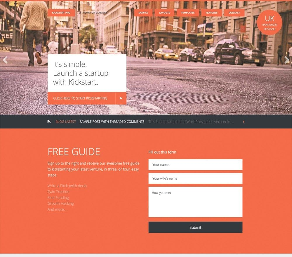 2 New Excellent Responsive WordPress Themes