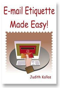 Easy Email Etiquette Paperback Book