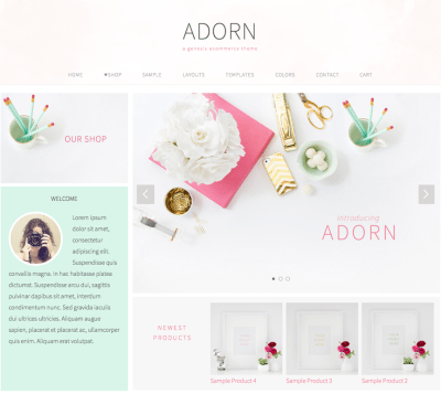 Pretty Feminine Premium WordPress Themes