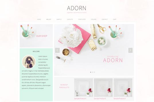 Pretty Feminine Premium WordPress Themes