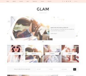 Glam Pro Elegant Premium WordPress Theme