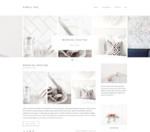 Simply Feminine Premium WordPress Theme