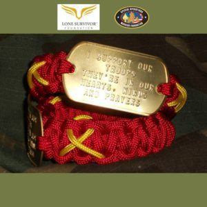 Red Friday Operations Red Wing Bracelet