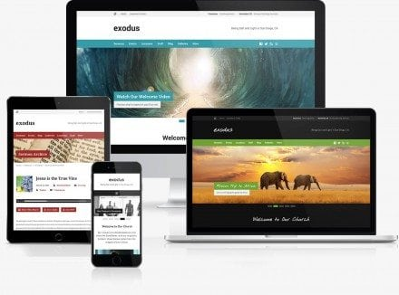 3 Innovative WordPress Church Themes