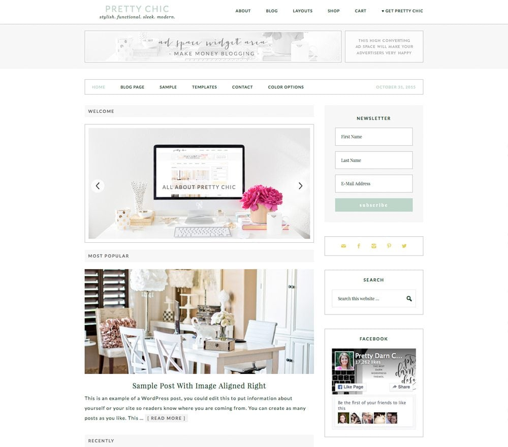 Clean & Stylish Responsive WordPress Themes