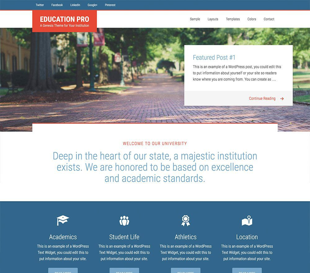 Education Pro Theme