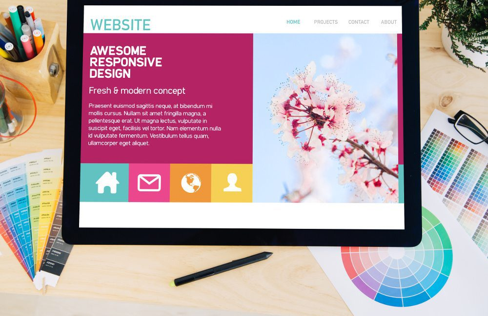 New Responsive WordPress Website