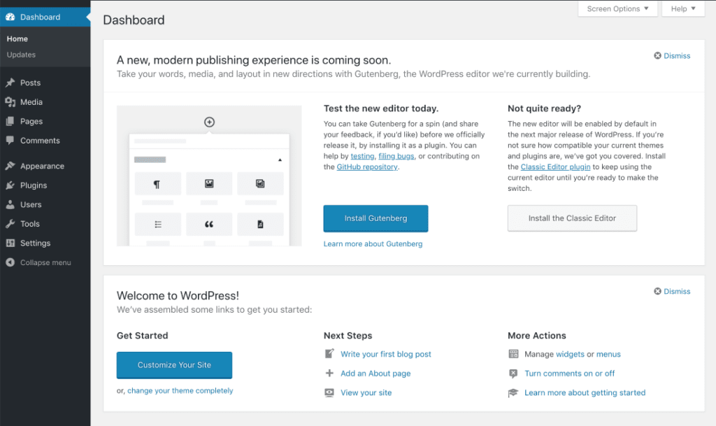 WordPress Gutenberg Plugin Callout