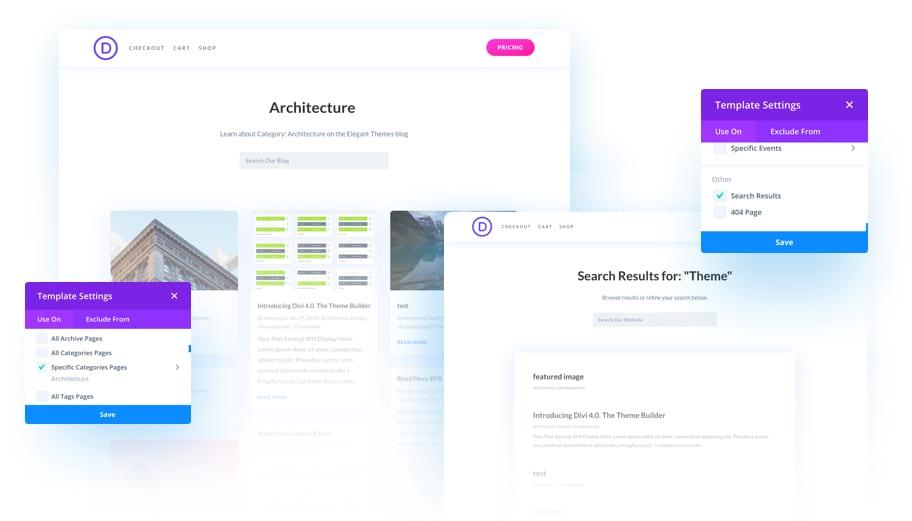 Divi WordPress Theme Website Builder