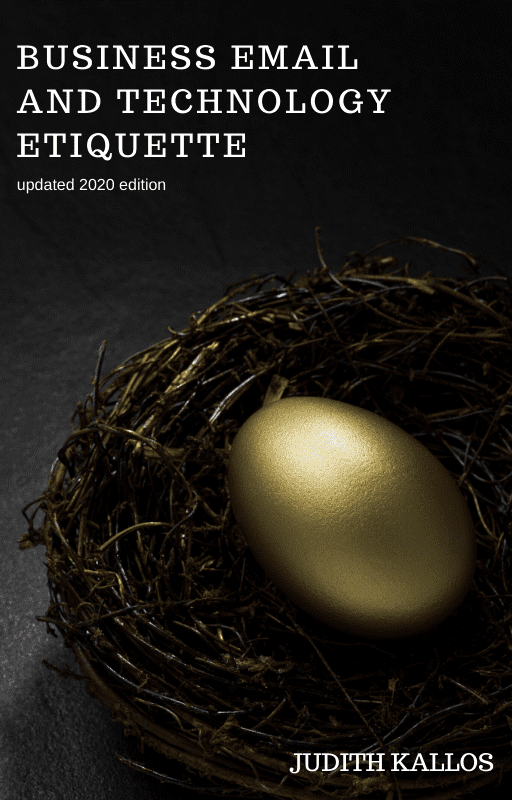 Business Email Etiquette eBook