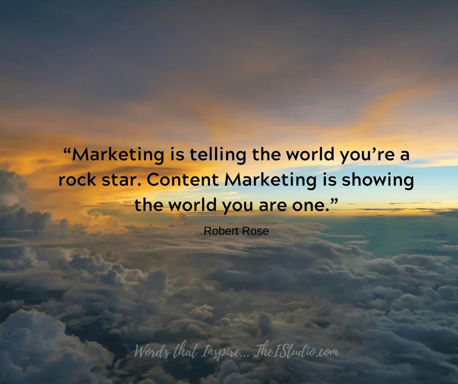 Marketing vs. Content Marketing