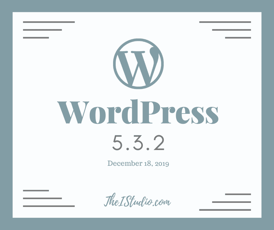 Update to WordPress 5.3.2