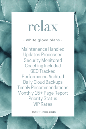 WordPress White Glove Support and Maintenance Service
