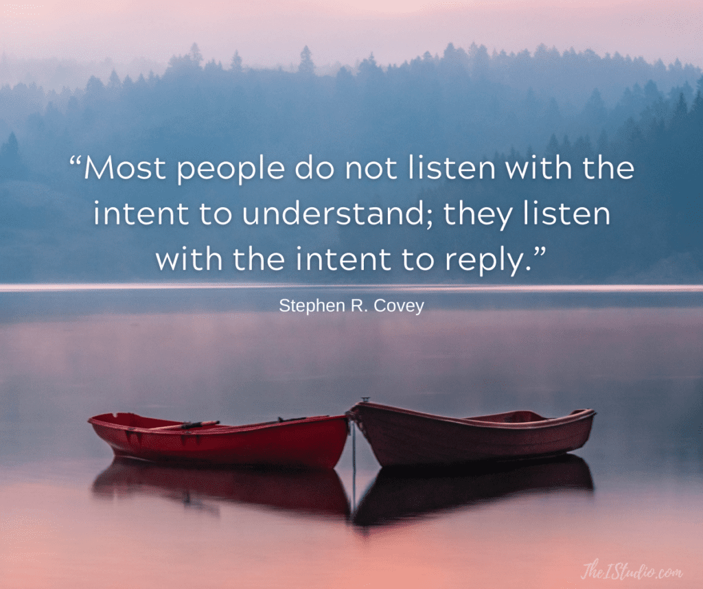 Online Marketing is about listening not talking.
