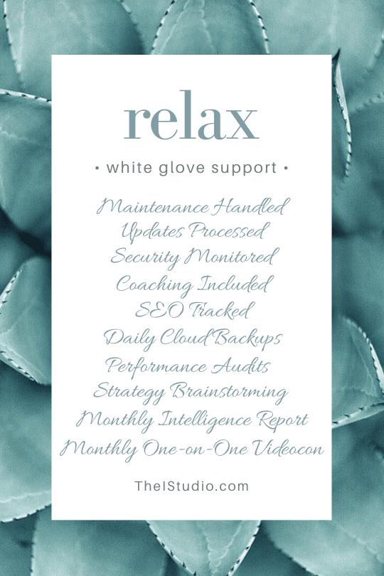 White Glove WordPress Whole-Site Support