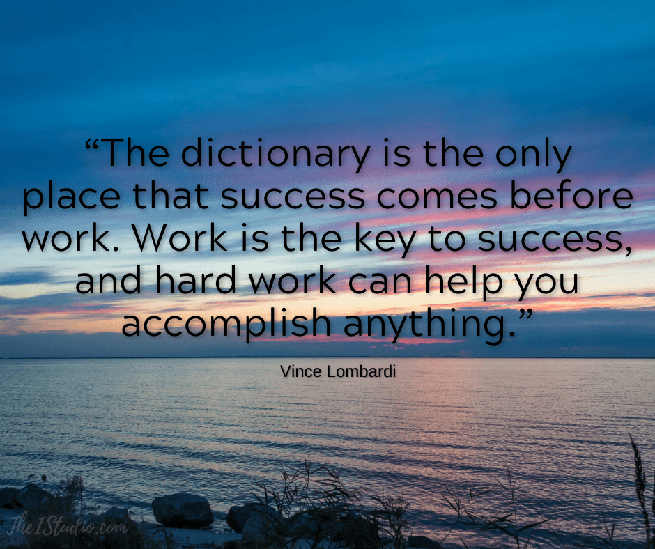 Successful WordPress websites require your hard work -- and then more hard work.