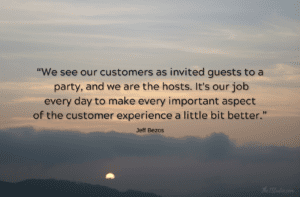 Customer Service = Falling in Love (with your business)